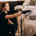 Car wash detailing station